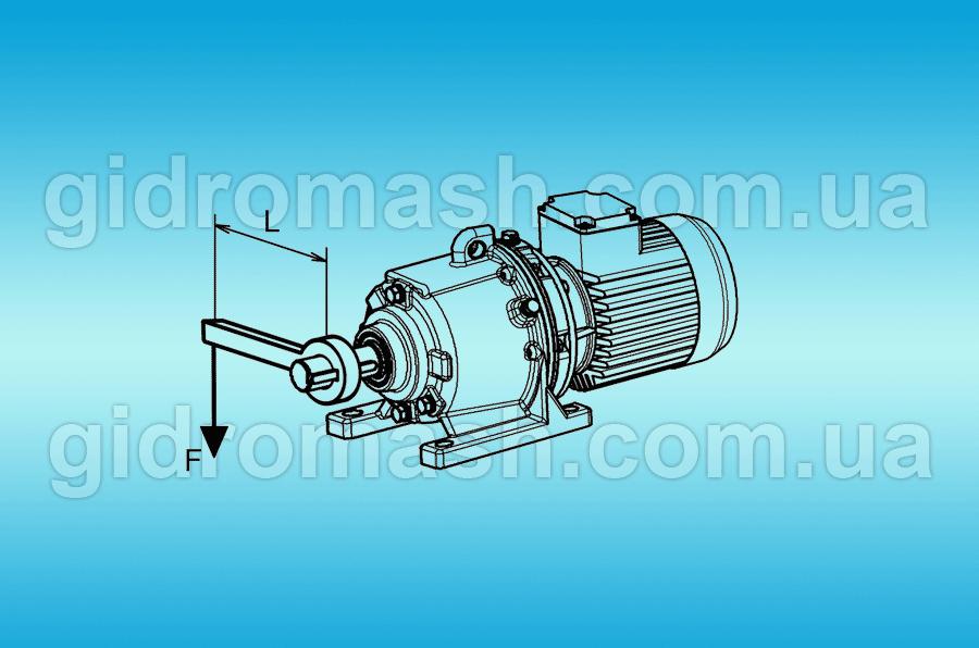 двигатель с редуктором для транспортера